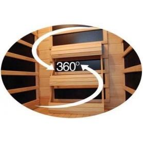 Lähtevä Sauna Luxline Duo Corner