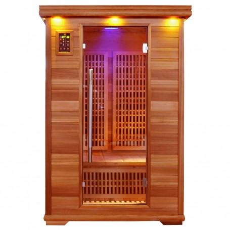 Lähtevät tuotteet Sauna Apollon Tourmaline Saunan ulkomitat: Pituus: 1200 mm Korkeus: 1900 mm Syvyys: 1050 mm alv.