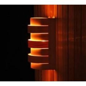 Shades Sauna lampunvarjostin 917D Cedar, seinä- ja nurkkamalli
