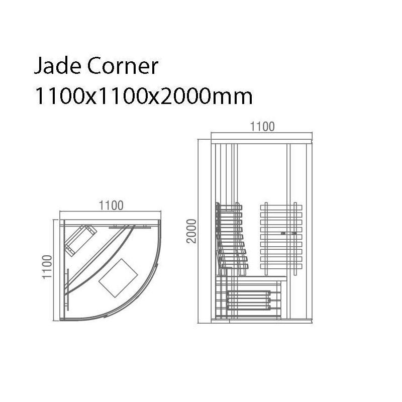 Lähtevät tuotteet Sauna Jade Corner Store -kopio