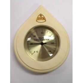 Lämpö- ja kosteusmittari Kota -saunan lämpömittari Drop Asp - 250TA