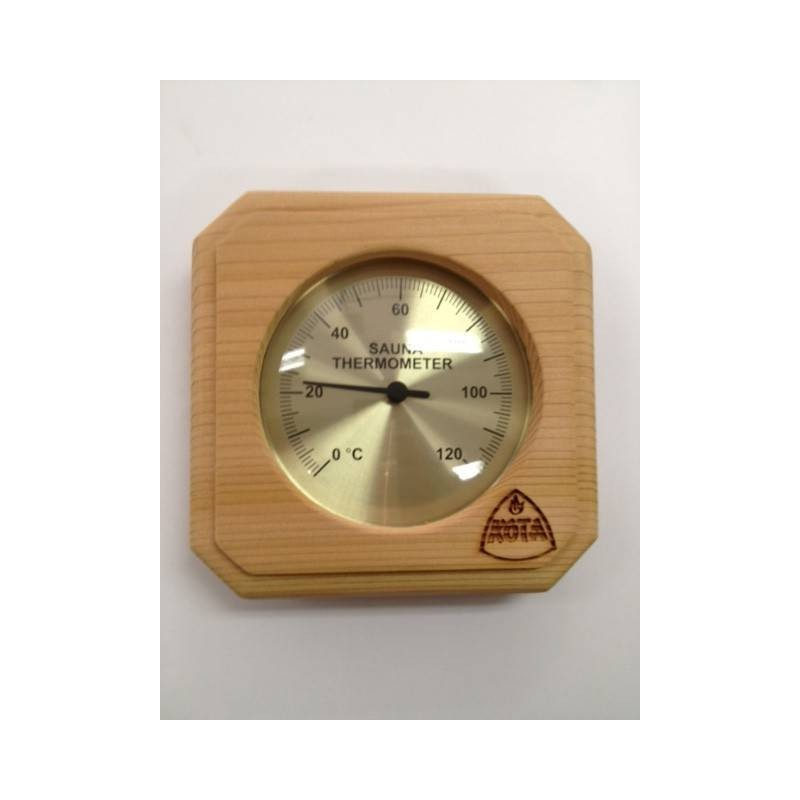 Lämpö- ja kosteusmittari Kota Bastuterometer neliösetri - 220 TD