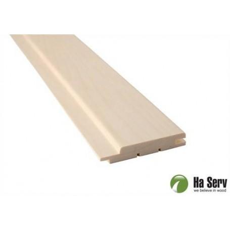 Saunapaneeli ASP 15x90 Saunalevy asp. 15x90mm Pituus: 3,0 m. 6 kpl Pituus: 3,0 m. 6 kpl