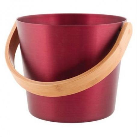 Tangot ja kauhat Rento saunakauha alumiini, luumu punainen