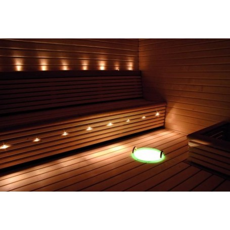 Valaistus Cariitti Fiber Lighting VPL20-F325 LED-projektori, jossa 7 kuitua. VPL20