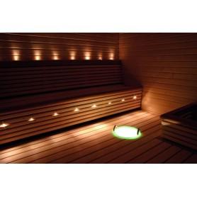 Valaistus Cariitti Fiber Lighting VPL20-S832 LED-projektori, jossa 7 + 1 kuitua.