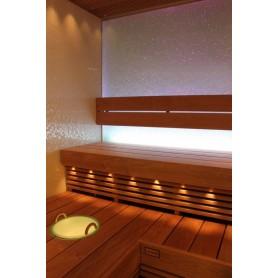 Valaistus Cariitti Fiber Lighting VPL20-N211 LED -projektori, jossa 10 + 1 kuitua.