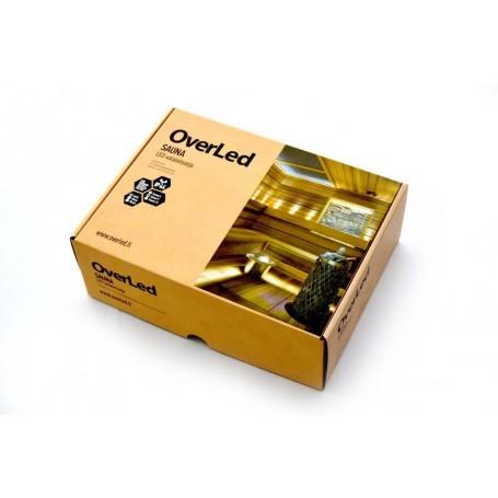 Valaistus Saunan valaistus LedLite 12 180 ° C (12 diodi) hopea