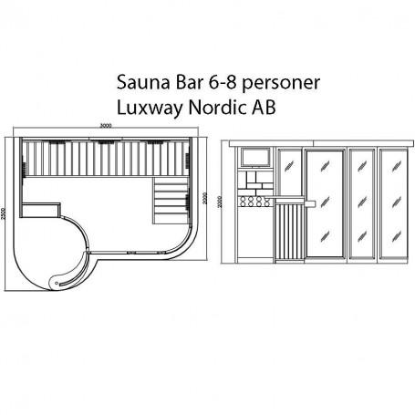 Lähtevät tuotteet Sauna-saunabaari