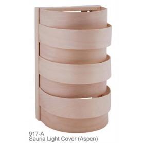 Shades Sauna lampunvarjostin 917A Asp, seinä- ja nurkkamalli