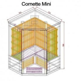 Kulmasauna Infrapunasauna Cornett Mini Hemlock Ulkomitat: Pituus: 1250 mmKorkeus: 1900 mmLeveys: 1250 mmToimitusaika: 2-3 päivää