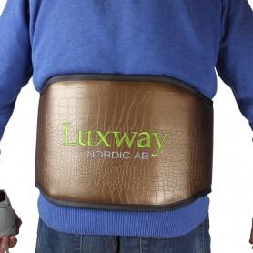 IR-kehonlämmitin Infrapunavyö selkänojalle turmaliinilla Mitat: Leveys: 250 mmPituus: 1350 mmTurmaliini