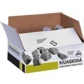 Tarvikkeet lämmitetylle kiukaalle Bastusten Narvi, olivindi-pohja, 5-10 cm, 20 kg