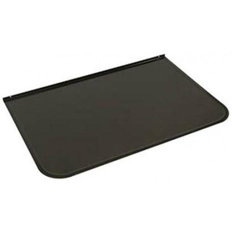 Lisävarusteet lämmitetylle kiukaalle Etulevy / kipisuojaus Harmaa musta 700x400 mm