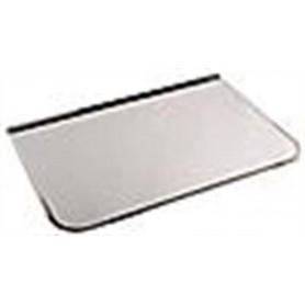Lisävarusteet lämmitetylle kiukaalle Etulevy / kipisuojaus Kromi 700x400 mm