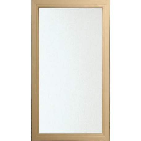 Saunaikkunan koko 5x9 Saunaikkunan 5x9 kirkas lasi Asp-kehyksellä