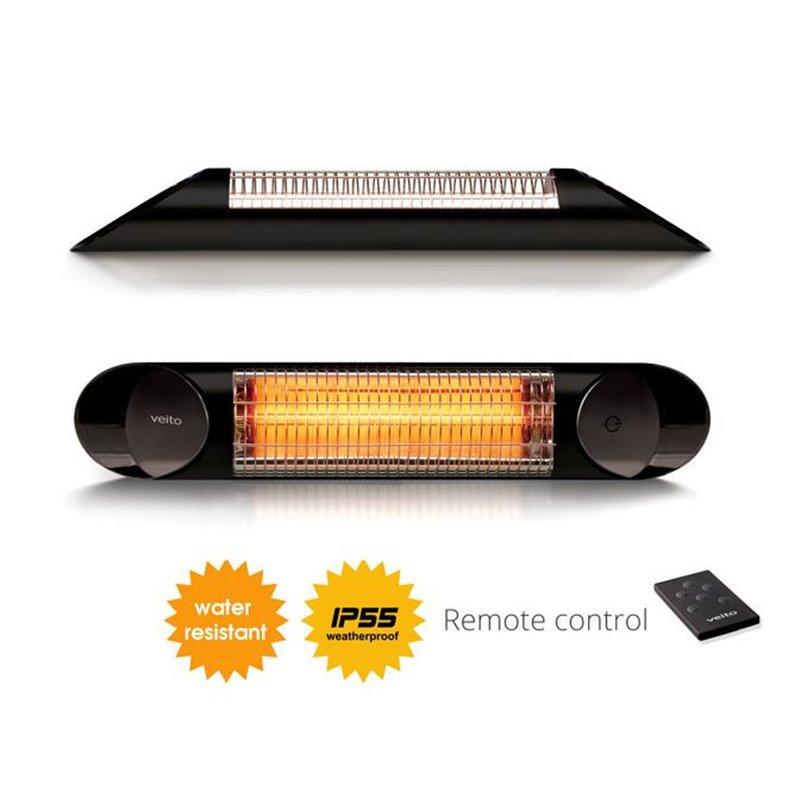 Terassi lämmitin Terassilämmitin Blade Black 1200W Infrapuna lämmitin / Terassilämmitys Blade 1200 wattia Toimitusaika: 2-3 päiv