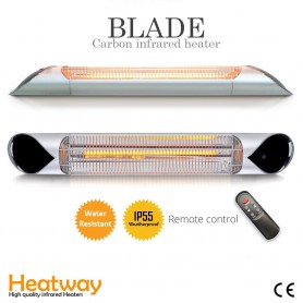Terassilämmitin Blade Silver 2000W infrapunalämmitin