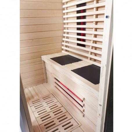 Sauna 2 hengelle Infrapuna Wiwo Care