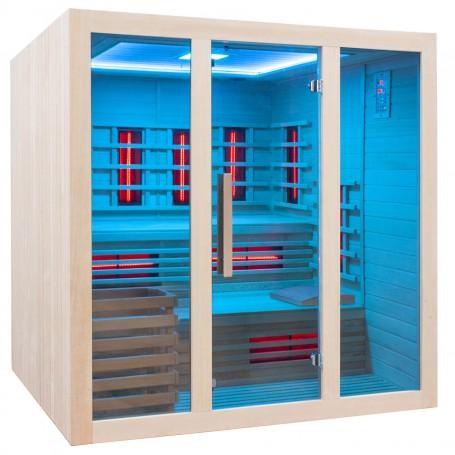 Säädettävä sauna kaukosäätimellä