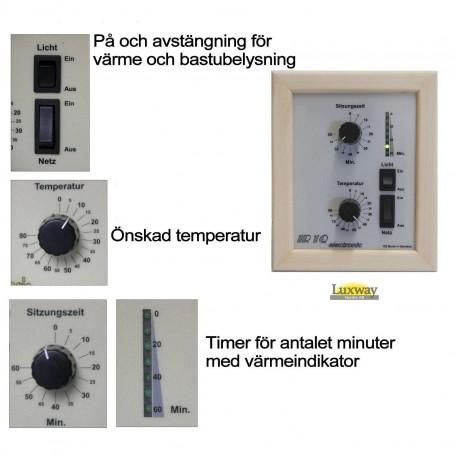 IR-säätimet IR1-elektroninen säädin