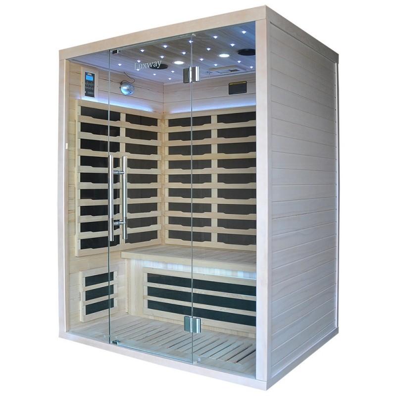 Helppokäyttöinen kiiltävä sauna