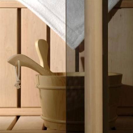 Saunaovien koko 7x19 Saunaoven 7x19 Classic, pronssilasi ja mäntykehys